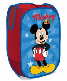 Arditex Disney Mickey Mouse Fabric Pop Up Storage Bag - Blue