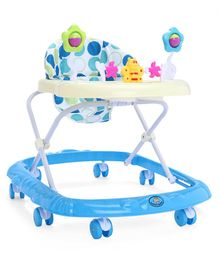 Baby Walker with Play Tray - Blue