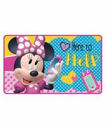 Arditex Minnie Mouse Themed Floor Mat - Pink