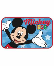 Arditex Floor Mat Mickey Mouse Print - Blue
