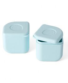 Miniware 100% Silicone Leakproof Silipods Pack of 2 - Blue - 120 ml