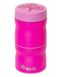 ZoLi Stackable Stainless Steel Insulated Containers Pink - 235 ml