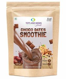 Tots and Moms Foods Choco Dates Smoothie Powder - 100 gm