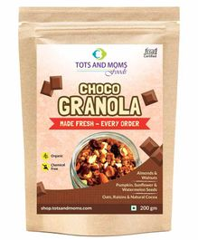 Tots and Moms Foods Choco Granola - 200 gm