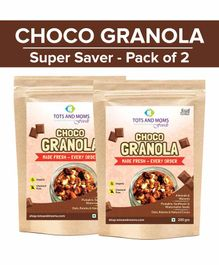 Tots and Moms Foods Choco Granola Super Saver Pack of 2 - 200 gm each