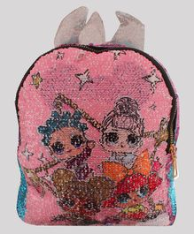 Daizy Shimmery Sequin Bag - Pink