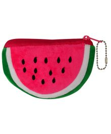 Daizy Watermelon Shape Pouch - Pink