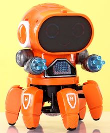 Musical Robot Toy - Orange