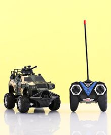 Remote Control Military Car Toy - Cream Green