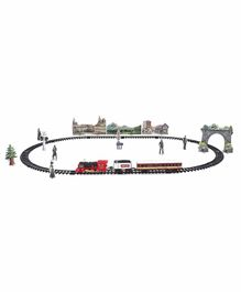 Remote Control Toy Train with Sounds and Lights - Multicolor