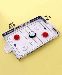 Ice Hockey Play Set - White Blue