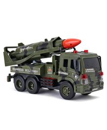 Friction Power Series Toy Truck - Olive Green