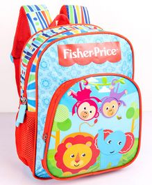 Fisher Price School Bag Blue - 12 Inches