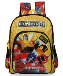 Transformers School Bag Yellow - 16 Inches