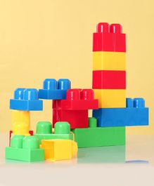 Building Blocks Series Multicolor - 18 Pieces
