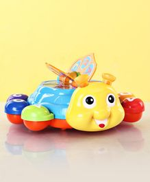 Little Beetle Educational Toy with Music - Blue Yellow