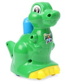 Lovely Push & Go Dinosaur - Green