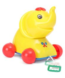 Lovely Safari Jumbo Pull Along Toy - Yellow