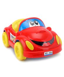 Lovely Push N Go Sam Car - Red Yellow