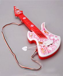 Lovely Hip Hop Guitar with Pick - Red