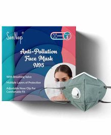 SanNap N95 Anti Pollution Face Mask with Earloop - Grey