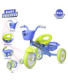 Dash Funtrike Tricycle - Blue & Green
