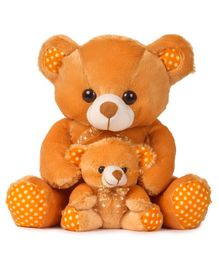 Deals India Mother And Baby Teddy Bear Brown - 33 cm