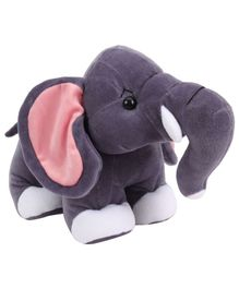 Deals India Elephant Soft Toy Grey - Height 30 cm