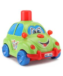 Lovely Push N Go Car - Green Red Blue