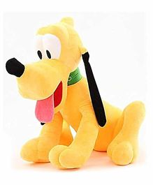 Frantic Pluto Soft Toy Yellow - Height 28 cm