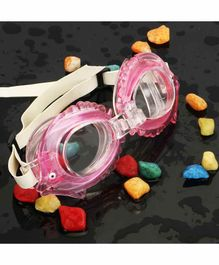 PASSION PETALS Anti Fog Swimming Goggles - Pink
