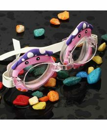 PASSION PETALS Anti Fog Swimming Goggles - Purple Pink