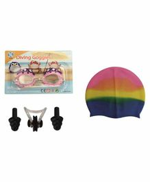 Passion Petals Swimming Kit -  Multicolor