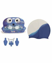 Passion Petals Swimming Kit -  Blue