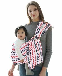 Polka Tots Ring Sling Carrier Wrap - White