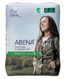 Abena Bladder Control Pads Mini Plus 1A - 16 Pieces