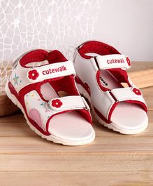 Cute Walk by Babyhug Sandals Color 1(24)Female