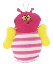 Bee Shape Bath Sponge - Pink