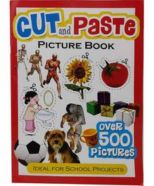 Sterling Cut & Paste Picture Book - English