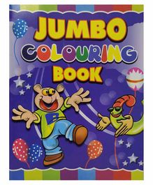 Sterling Jumbo Colouring Book - English