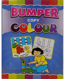 Sterling Bumper Colouring Book - English