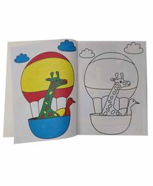 Sterling Giant Copy Colour Book - English