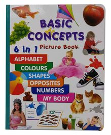Sterling Basic Concepts Picture Book - English