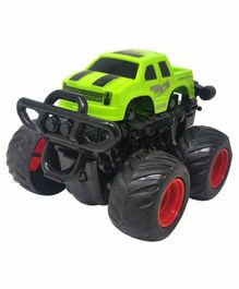 Sterling Friction Car Toy with 360 Degree Rotation - Green