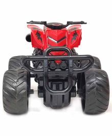 Sterling Friction Powered Toy ATV Bike - Red Black