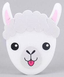 Sheep Face Bath  Sponge - White