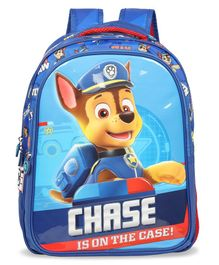 Paw Patrol School Bag with Hood Blue - 16 Inches