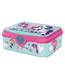 My Little Pony Lock & Seal Lunch Box Blue Pink - 500 ml