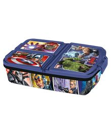 Marvel Avengers Clip Lock Closure Lunch Box - Blue