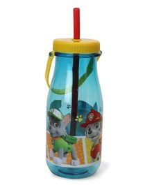 Paw Patrol Tritan Sipper Bottle With Handle Blue - 370 ml